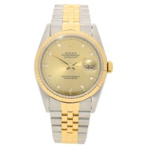 Rolex Datejust 16233 - Gents Watch - Diamond Dial - 1993