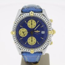 Breitling Chronomat Steel/Gold BlueDial 39mm (BOXonly2000) MINT