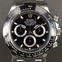 ロレックス (Rolex) Daytona cosmograph ref: 116500LN black dial,...