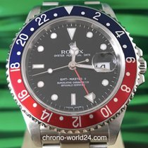 Rolex GMT Master II Ref. 16710 Pepsi stick dial  box papers