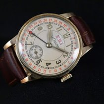 Jaeger-LeCoultre (ジャガー・ルクルト) JAEGER LECOULTRE DATE CALENDAR 17 JEWELS VINTAGE Ref 119394 中古