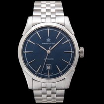 Hamilton Spirit of Liberty Steel 42mm Blue United States of America, California, San Mateo
