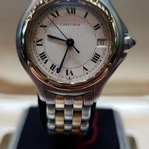 Cartier Cougar Or/Acier 30mm Romain