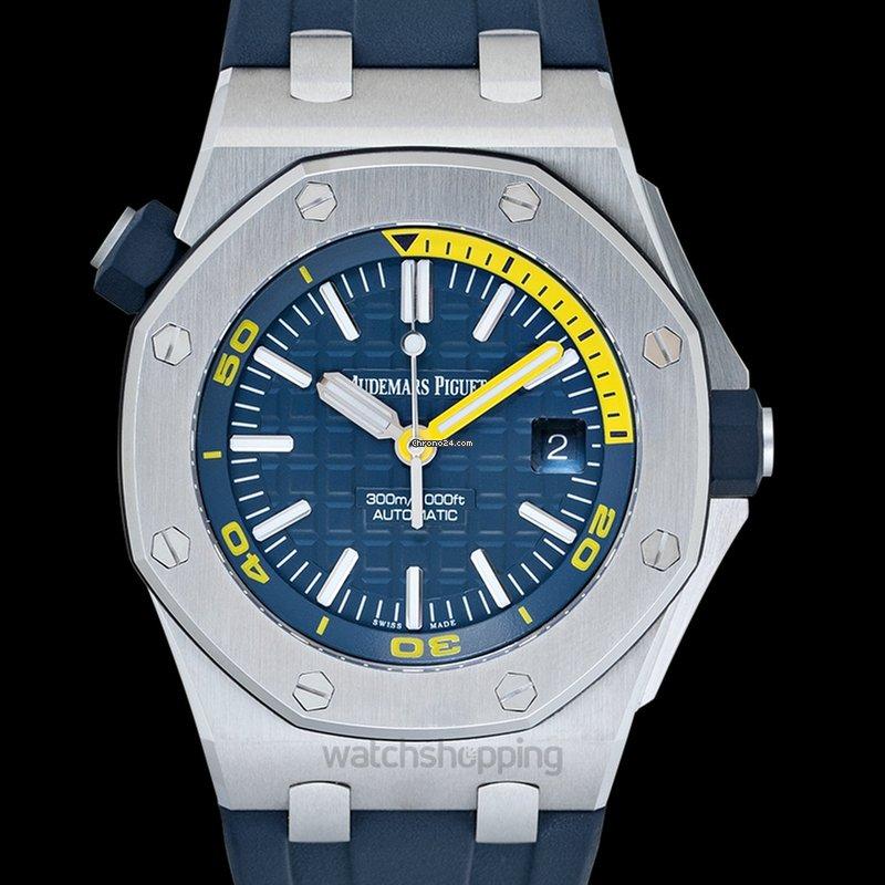 Audemars Piguet Royal Oak Offshore Blue Dial Men S Watch 15710st Oo A027ca