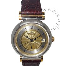 Theorein new Automatic Power Reserve Display 37mm Gold/Steel Sapphire crystal