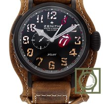 Zenith Pilot Type 20 GMT new 2019 Automatic Watch with original box and original papers 96.2435.693/97.C738