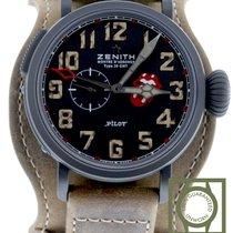 Zenith Pilot Type 20 GMT Titane 48mm Noir Arabes