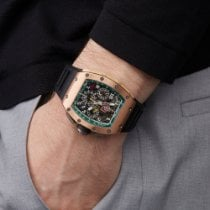 Richard Mille Titane 42mm Remontage automatique RM011 AJ RG occasion