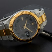 Rolex Datejust II Or/Acier 41mm Romains
