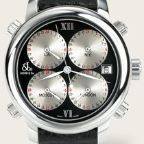 Jacob & Co. Five Time Zone Stahl 47.5mm Schweiz, Basel