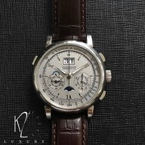 A. Lange & Söhne 410.025 Platinum 2007 Datograph 41mm pre-owned