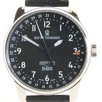 Revue Thommen Steel 40,7mm Automatic Revue Thommen Airspeed 16050.2537 new