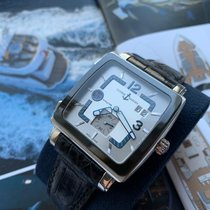 Ulysse Nardin Quadrato Dual Time Steel 42mm Silver