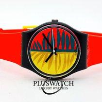 Swatch Plastic 34mm Quartz GB113 new