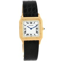 Cartier new Manual winding Yellow gold