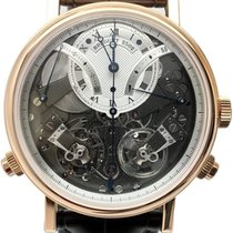 Breguet Rose gold Manual winding Silver Roman numerals 44mm pre-owned Tradition