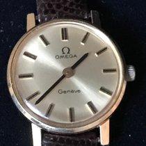 Omega Genève Gold/Steel 23mm Gold No numerals