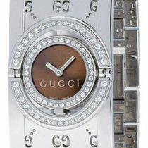Gucci Twirl YA112504 Neu 23mm Quarz