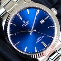 Tudor Style Acier 41mm Bleu Sans chiffres France, Thonon les bains