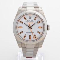 Rolex Milgauss Steel 40mm White No numerals United Kingdom, Kent