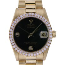 Rolex 178288 Or jaune 2001 Datejust 31mm nouveau