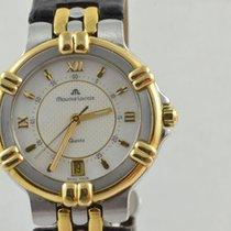 Maurice Lacroix Gold/Stahl 35mm Quarz 95327 gebraucht
