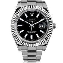 Rolex Datejust II Steel 41mm Black No numerals South Africa, Johannesburg