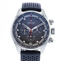 Zenith El Primero Sport occasion 45mm Gris Chronographe Date Caoutchouc