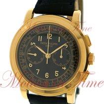 Patek Philippe Chronograph Oro amarillo 42mm Negro Árabes