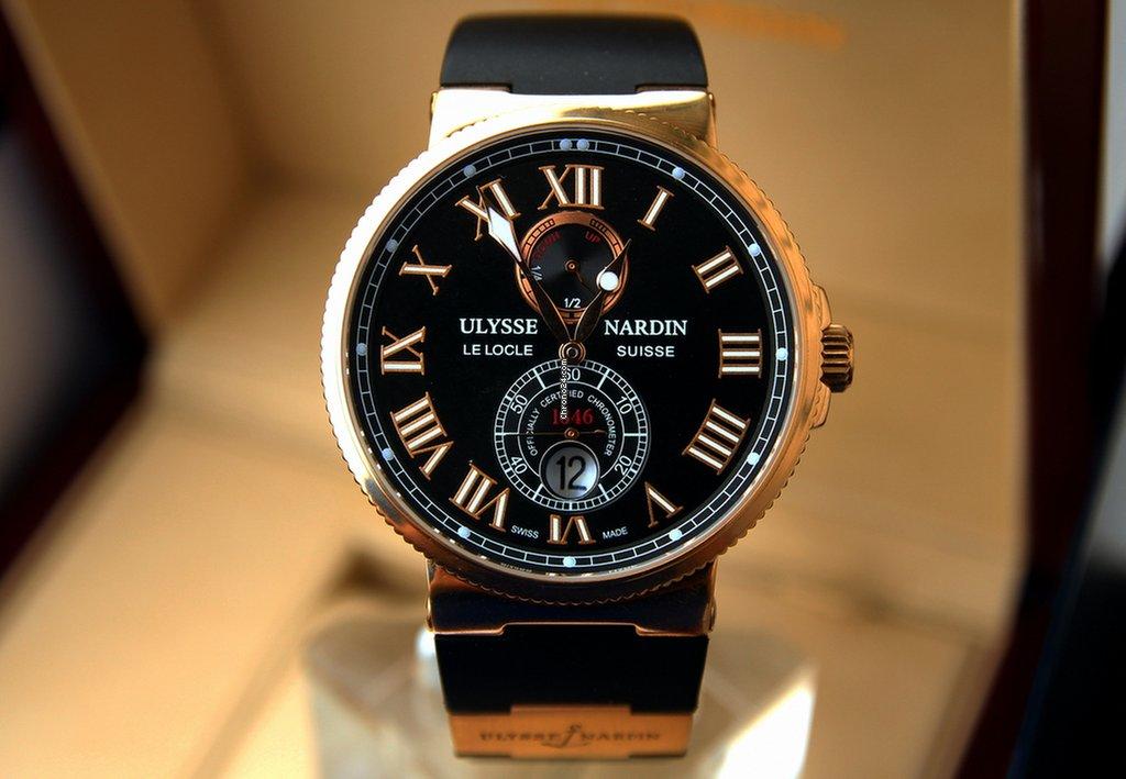 Ulysse Nardin Marine Chronometer Manufacture 1186-126-3/62 новые