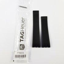 TAG Heuer Aquaracer 500M Rubber Strap FT6023 black 22mm