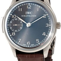 IWC Portuguese Minute Repeater White gold Grey United States of America, New York, Brooklyn