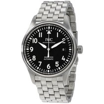 IWC Men's IW327011 Pilot Automatic Black Dial Watch