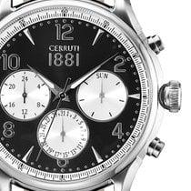 Cerruti CRA107SN02BK Bellagio Chronograph 44mm 5ATM