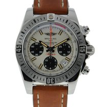 Breitling Chronomat 41 Airborne Stainless Steel Tan Dial With...