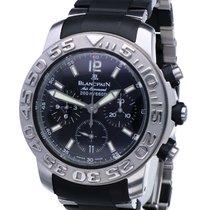 Blancpain Air Command Steel 40mm Black No numerals