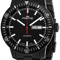 Fortis B-42 Cosmonautis Monolith Automatic Black Mens Watch...