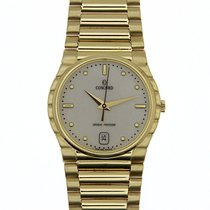 Concord 18k Solid Yellow Gold Watch Grande Precision Mens