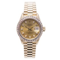 Rolex Datejust 69138 Womens Automatic Watch Yellow Gold...