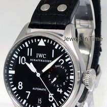 IWC Big Pilot Steel 7 Day Power Reserve Automatic Mens Watch...