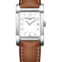 Baume & Mercier Hampton Otel 34.5mm Alb
