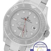 Rolex MINT 2006 Rolex Yacht-Master 16622 Stainless Platinum...