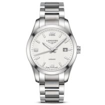 Longines Conquest Classic Steel 40mm Silver Arabic numerals United States of America, New York, New York