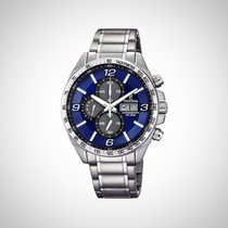Festina F6861/3 Chronograph Quartz Blue Dial Stainless Steel...