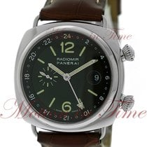Panerai Radiomir GMT Steel 42mm Black Arabic numerals United States of America, New York, New York