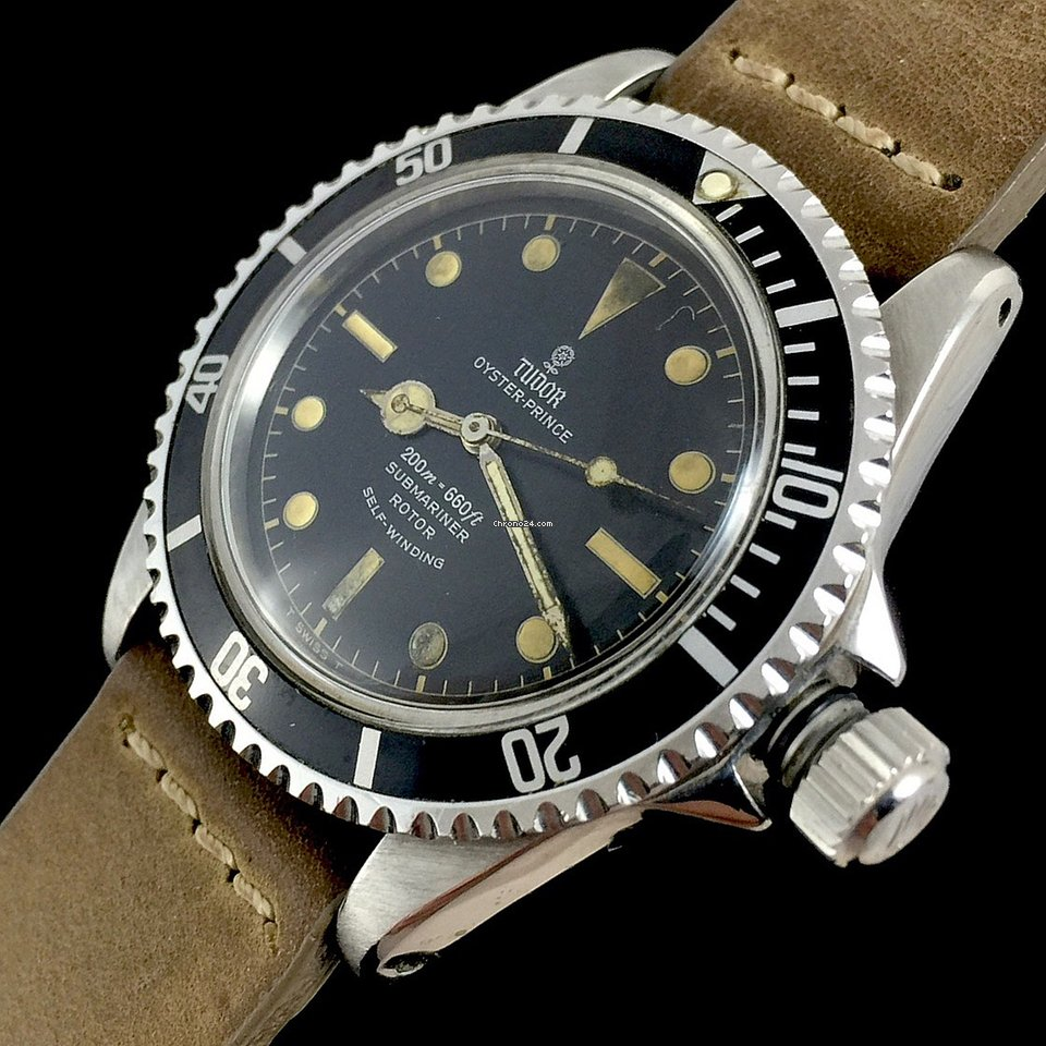 release date f1df9 3b0d6 Tudor Submariner 7928 Gilt Chapter Ring PCG