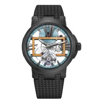 Ulysse Nardin Executive Skeleton Tourbillon Титан 45mm
