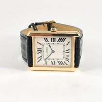 Cartier Tank Solo  Large 18k gold with Cartier box