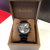 Gucci Acier 44mmmm Quartz Gucci 101m chrono noir occasion France, Pierrelaye