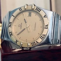 Omega Constellation Quartz pre-owned Gold/Steel
